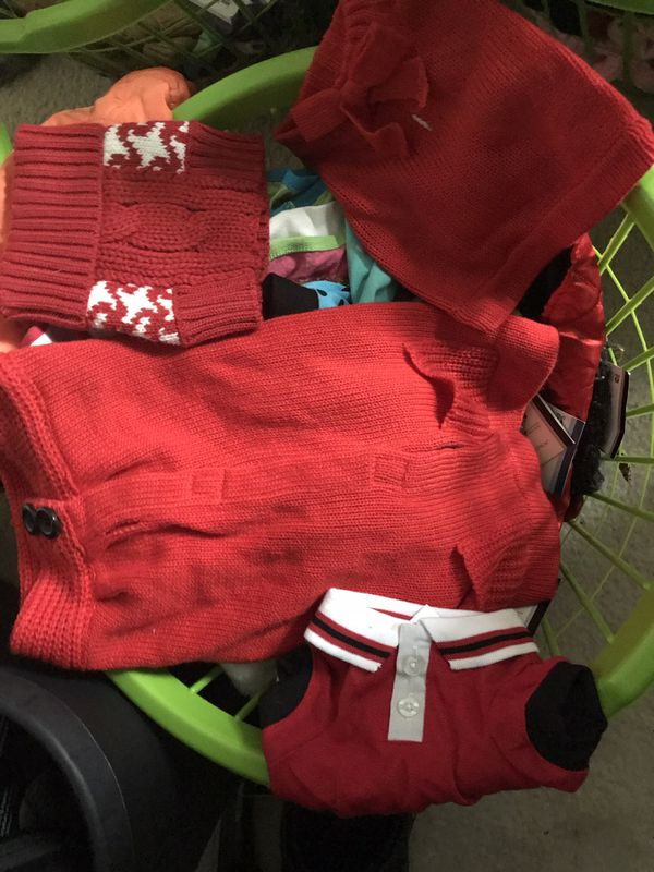 Dog clothes $3 each new with tags