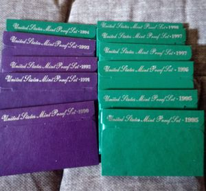 1990's S Proof Sets Uncirculated for Sale in Hopewell, VA