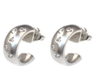 14K White Gold Diamond Earrings for Sale in Buena Park, CA