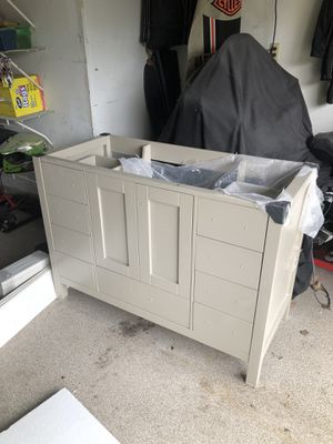 "Brand new 48"" inch bathroom vanity w/ Mirror for Sale in Bettendorf, IA"