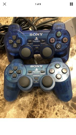 Ps2 blue controller for Sale in Cranston, RI