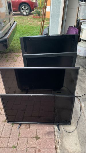 Samsung,magnavox,,Sanyo 4 dead tvs technician special 50. Dollars for Sale in Haines City, FL