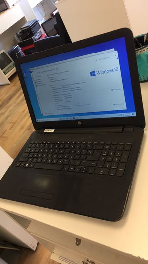 "HP laptop 15"" Warrantied good condition for Sale in Fair Lawn, NJ"