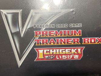 Pokemon japanese ETB ichigeki for Sale in Buckeye,  AZ