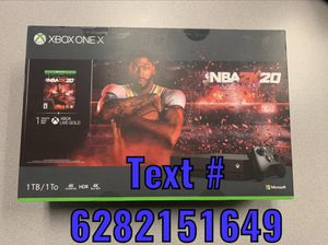 Xbox one X 1tb( NBA2k20) for Sale in Baltimore, MD