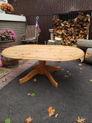 Knotty pine coffee table for Sale in West Islip, NY