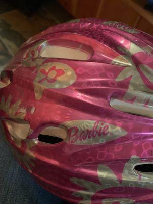 Girls Barbie bike helmet for Sale in Seattle, WA