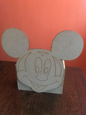 Mickey Mouse wood box for Sale in Stockton, CA