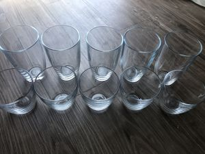Glass drinking cup set for Sale in San Luis Obispo, CA