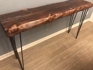 Live Edge Sofa Entry Table for Sale in La Mesa, CA