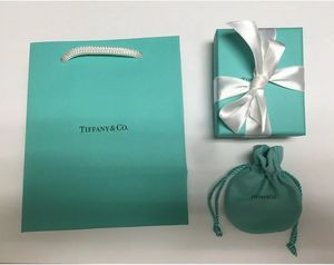 Brand New Authentic Tiffany & Co Jewelry Gift Bag Gift Box Pouch Gift Enclosure Card and Envelope for Sale in Boca Raton, FL
