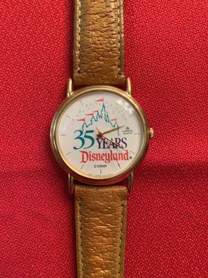 Disneyland 35 Years Vintage Man's Watch for Sale in Chandler, AZ