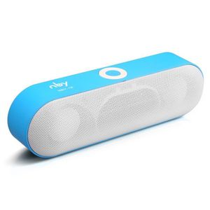 NBY-18 Mini Bluetooth Speaker Portable Wireless Sound System 3D Stereo - Blue for Sale in Wichita, KS