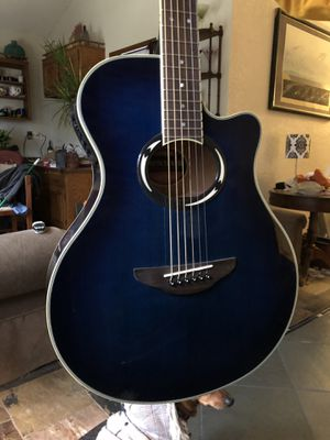 Yamaha Electric Acoustic Guitar - APX500III Electric Blue for Sale in Bothell, WA