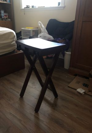 Brown Wooden Stool for Sale in Herndon, VA