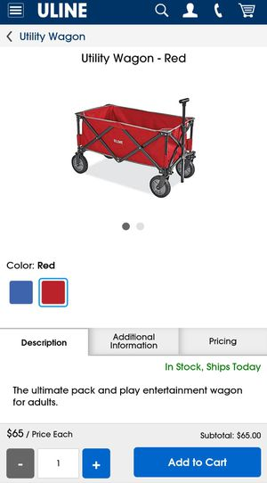 Red wagon for Sale in Denton, TX