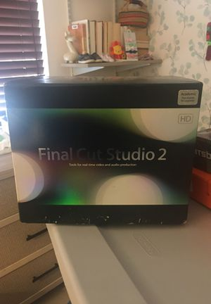 Final Cut Studio 2 for sale! for Sale in Lomita, CA