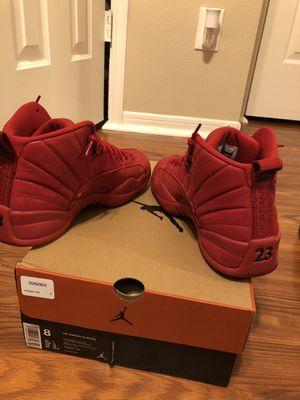 Jordan 12 Retro Gym Red for Sale in Cypress, TX