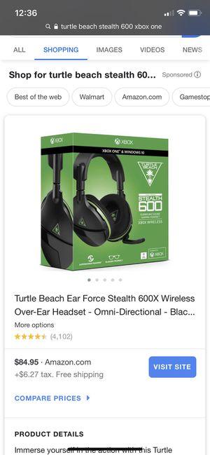 Turtle beach headset for Sale in Zimmerman, MN