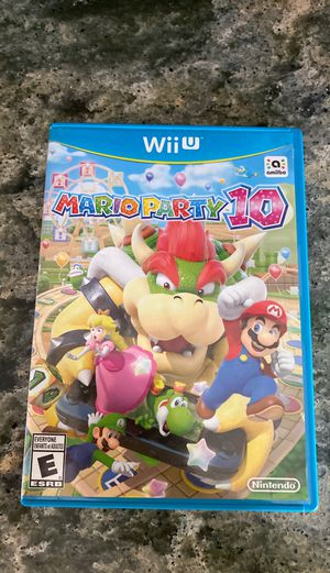 Mario party 10 for Sale in Eugene, OR