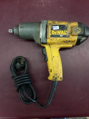 "1/2"" Electric Impact Wrench DeWalt for Sale in Columbus, OH"
