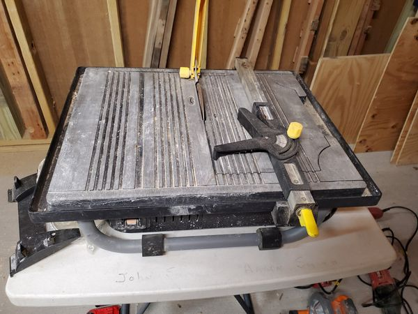 MD Fusion wet tile saw