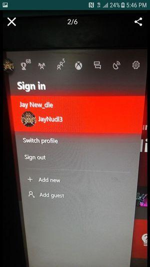 Xbox one account for Sale in Cranston, RI