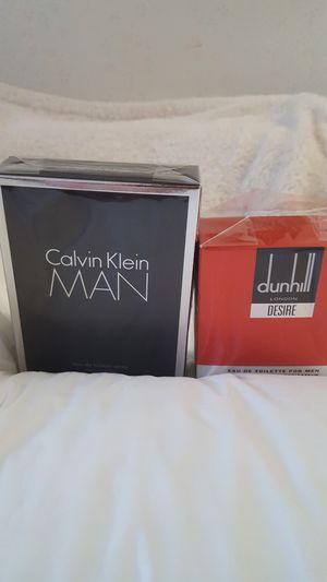 Calvin Klein MAN Eau de Toilette Spray &Dunhill LONDON Desire for men for Sale in Vienna, VA
