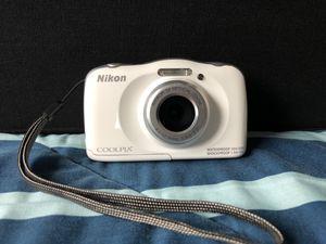Nikon Coolpix Digital Camera Waterproff for Sale in San Leandro, CA