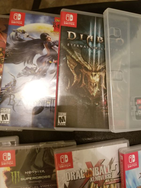 NINTENDO SWITCH GAMES (ANY GAME FOR $35)