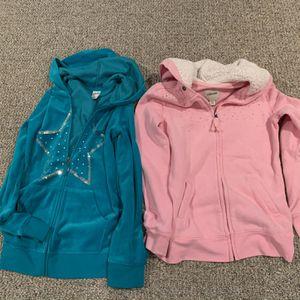 2 GIRLS LIKE NEW SIZE XL 14-16 HOODIES for Sale in Allentown, NJ