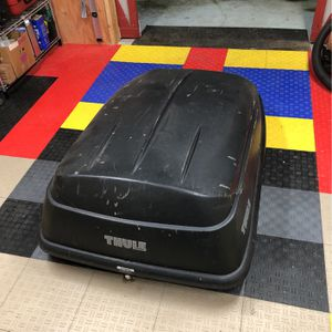 Thule Rooftop Cargo Box for Sale in Seattle, WA