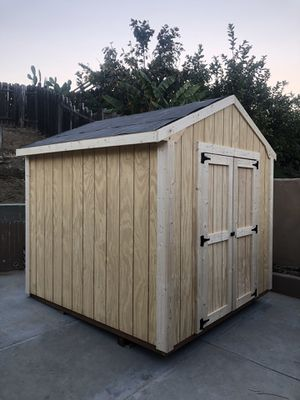 Custom Garden Sheds - McRae Storage Buildings for Sale in San Diego, CA