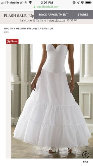 David's Bridal A Line Petticoat for Sale in South Pasadena, CA