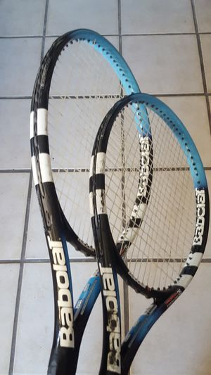 2 Babolat tennis rackets for Sale in Clearwater, FL