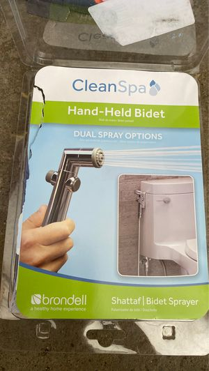 Brondell CleanSpa Hand Held Bidet in Silver for Sale in Pepper Pike, OH