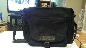 Black messenger bag for Sale in Hazel Park, MI