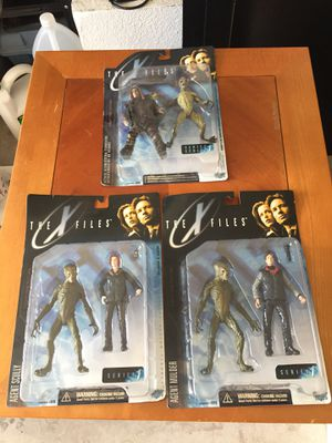 RARE X Files figures for Sale in Henderson, NV