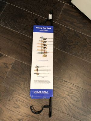 Fishing Rod Rack for Sale in Friendswood, TX
