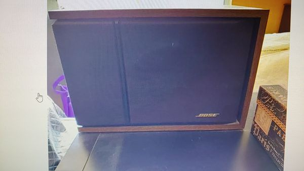 Bose speakers- left and right