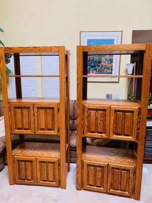 Oak Bookshelves for Sale in Los Angeles, CA
