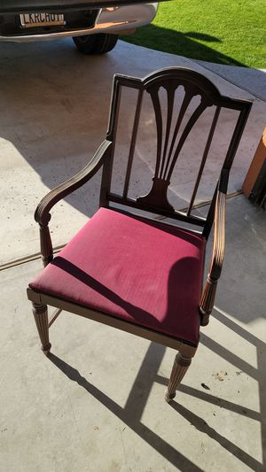 Antique captains chair for Sale in Bakersfield, CA