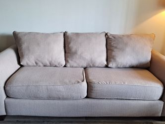 Simple Beige Couch for Sale in Fort Lauderdale,  FL