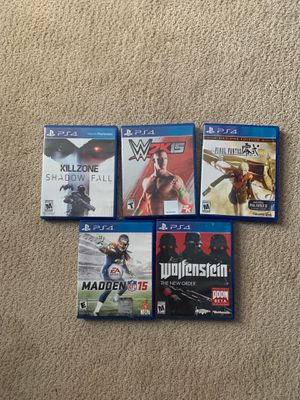 PS4 games for Sale in Waltham, MA