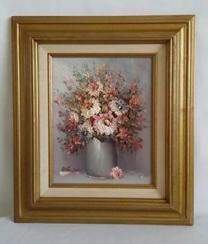 Wooden Picture Frame With 3-D Painting for Sale in Lakeland, FL