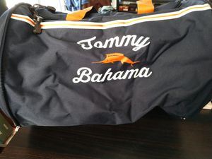 Tommy Bahama Hard Shell Tumbler Expandable Duffle Bag Navy Blue NWT for Sale in Tampa, FL