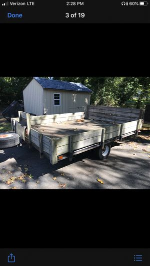 Trailer 5x8 wooden tilt deck trailer check it out!!! $400.00 negotiable for Sale in Babylon, NY