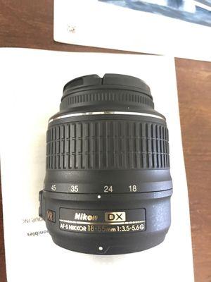 Nikon DX Autofocus lens for Sale in Amarillo, TX