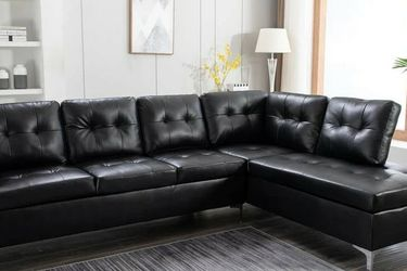 Vintage Black Sectional Sofa 2020 VENDORHAPPY HOMES for Sale in Houston,  TX