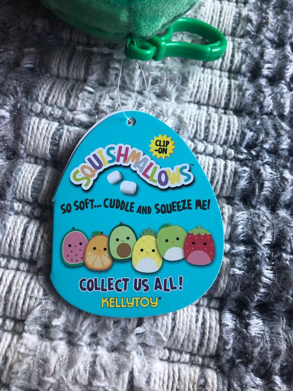 Squishmallows plushie